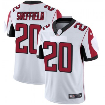 Youth Nike Atlanta Falcons Kendall Sheffield White Vapor Untouchable Jersey - Limited