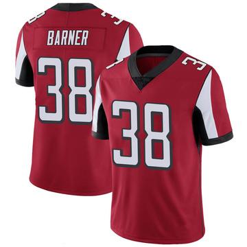 Youth Nike Atlanta Falcons Kenjon Barner Red 100th Vapor Jersey - Limited