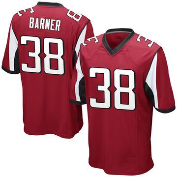 Youth Nike Atlanta Falcons Kenjon Barner Red Team Color Jersey - Game