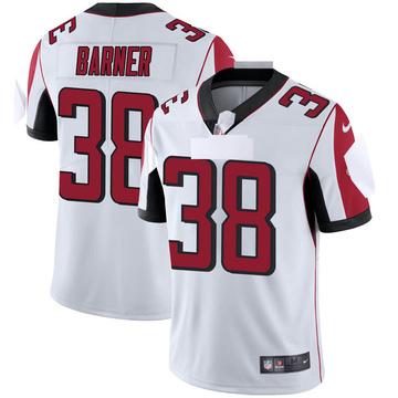 Youth Nike Atlanta Falcons Kenjon Barner White Vapor Untouchable Jersey - Limited