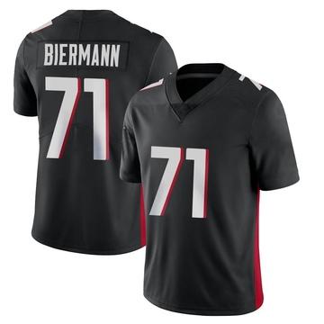 Youth Nike Atlanta Falcons Kroy Biermann Black Vapor Untouchable Jersey - Limited
