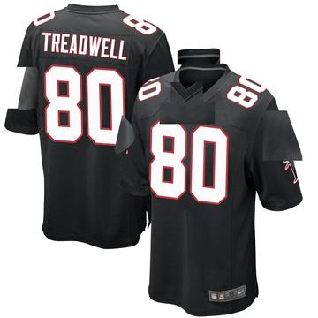 Youth Nike Atlanta Falcons Laquon Treadwell Black Alternate Jersey - Game