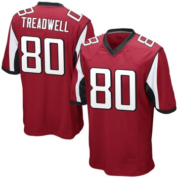 Youth Nike Atlanta Falcons Laquon Treadwell Red Team Color Jersey - Game
