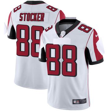 Youth Nike Atlanta Falcons Luke Stocker White Vapor Untouchable Jersey - Limited