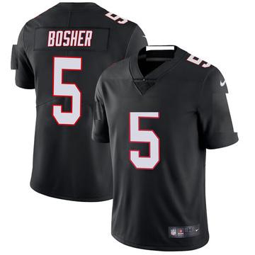 Youth Nike Atlanta Falcons Matt Bosher Black Vapor Untouchable Jersey - Limited