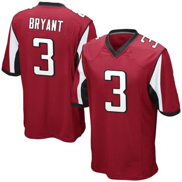 Youth Nike Atlanta Falcons Matt Bryant Red Team Color Jersey - Game
