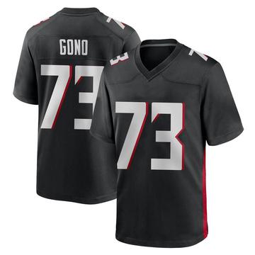Youth Nike Atlanta Falcons Matt Gono Black Alternate Jersey - Game