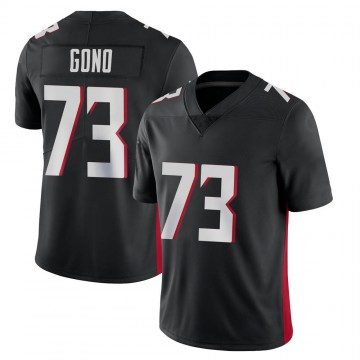 Youth Nike Atlanta Falcons Matt Gono Black Vapor Untouchable Jersey - Limited