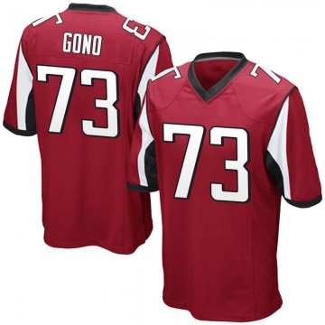 Youth Nike Atlanta Falcons Matt Gono Red Team Color Jersey - Game