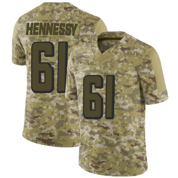 Youth Nike Atlanta Falcons Matt Hennessy Camo 2018 Salute to Service Jersey - Limited