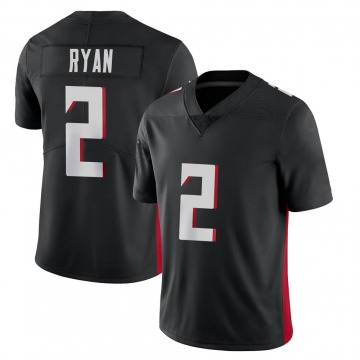 Youth Nike Atlanta Falcons Matt Ryan Black Vapor Untouchable Jersey - Limited