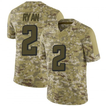 Youth Nike Atlanta Falcons Matt Ryan Camo 2018 Salute to Service Jersey - Limited