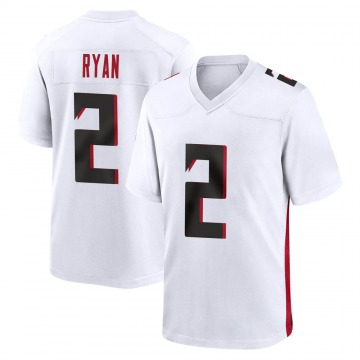 Youth Nike Atlanta Falcons Matt Ryan White Jersey - Game