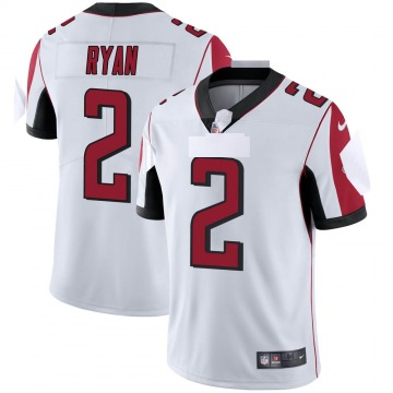 Youth Nike Atlanta Falcons Matt Ryan White Vapor Untouchable Jersey - Limited