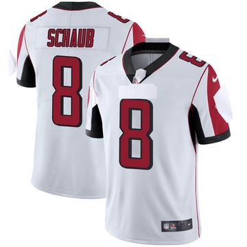 Youth Nike Atlanta Falcons Matt Schaub White Vapor Untouchable Jersey - Limited