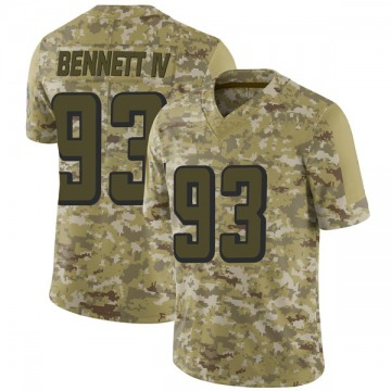 Youth Nike Atlanta Falcons Michael Bennett IV Camo 2018 Salute to Service Jersey - Limited