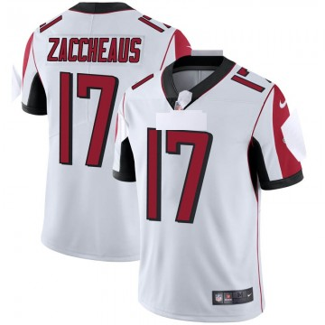 Youth Nike Atlanta Falcons Olamide Zaccheaus White Vapor Untouchable Jersey - Limited