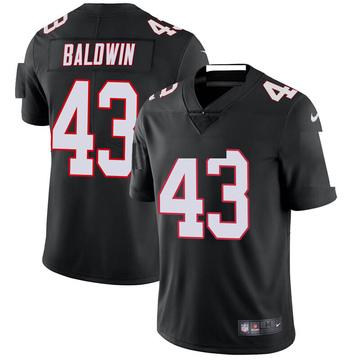 Youth Nike Atlanta Falcons Parker Baldwin Black Vapor Untouchable Jersey - Limited