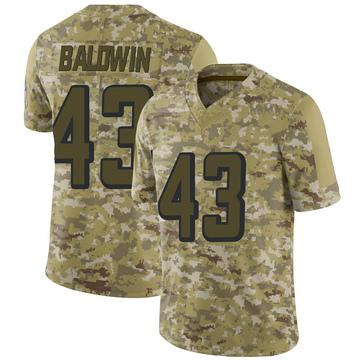 Youth Nike Atlanta Falcons Parker Baldwin Camo 2018 Salute to Service Jersey - Limited