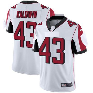 Youth Nike Atlanta Falcons Parker Baldwin White Vapor Untouchable Jersey - Limited