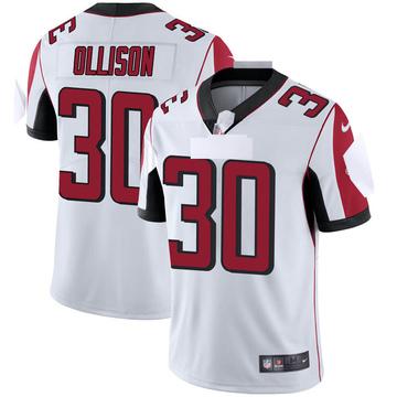 Youth Nike Atlanta Falcons Qadree Ollison White Vapor Untouchable Jersey - Limited