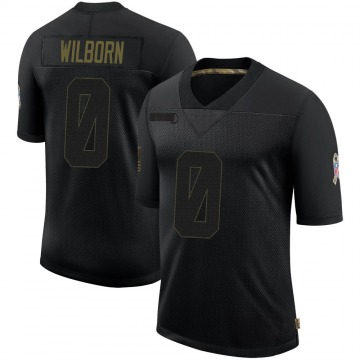 Youth Nike Atlanta Falcons Ray Wilborn Black 2020 Salute To Service Jersey - Limited