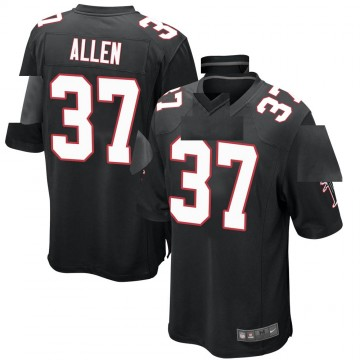 Youth Nike Atlanta Falcons Ricardo Allen Black Alternate Jersey - Game