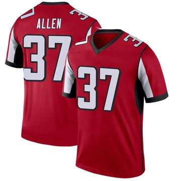 Youth Nike Atlanta Falcons Ricardo Allen Red Jersey - Legend