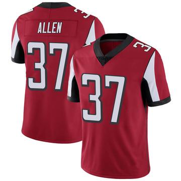 Youth Nike Atlanta Falcons Ricardo Allen Red Team Color Vapor Untouchable Jersey - Limited