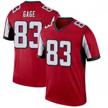 Youth Nike Atlanta Falcons Russell Gage Red Jersey - Legend