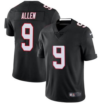 Youth Nike Atlanta Falcons Ryan Allen Black Vapor Untouchable Jersey - Limited