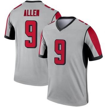 Youth Nike Atlanta Falcons Ryan Allen Inverted Silver Jersey - Legend