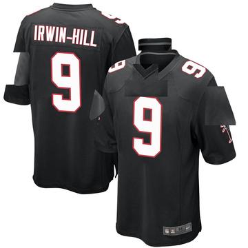 Youth Nike Atlanta Falcons Sam Irwin-Hill Black Alternate Jersey - Game