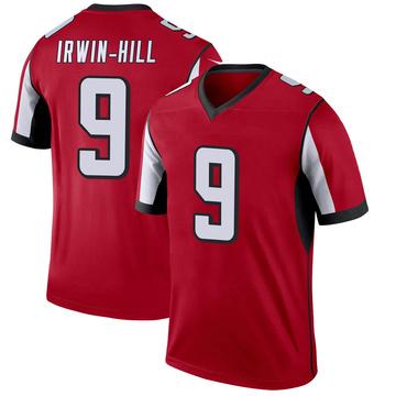 Youth Nike Atlanta Falcons Sam Irwin-Hill Red Jersey - Legend