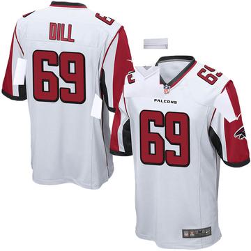 Youth Nike Atlanta Falcons Scottie Dill White Jersey - Game