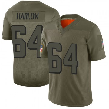 Youth Nike Atlanta Falcons Sean Harlow Camo 2019 Salute to Service Jersey - Limited
