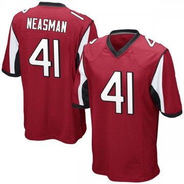 Youth Nike Atlanta Falcons Sharrod Neasman Red Team Color Jersey - Game