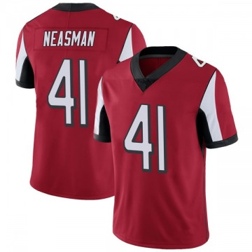 Youth Nike Atlanta Falcons Sharrod Neasman Red Team Color Vapor Untouchable Jersey - Limited