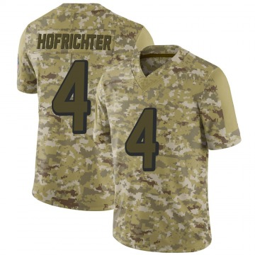 Youth Nike Atlanta Falcons Sterling Hofrichter Camo 2018 Salute to Service Jersey - Limited