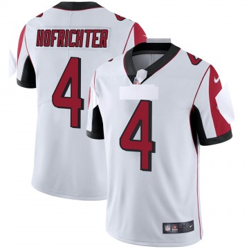 Youth Nike Atlanta Falcons Sterling Hofrichter White Vapor Untouchable Jersey - Limited