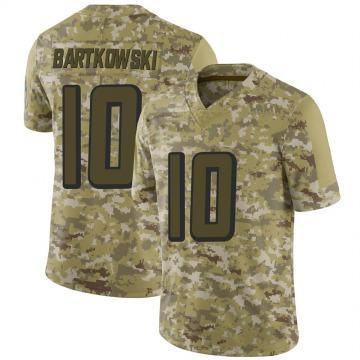 Youth Nike Atlanta Falcons Steve Bartkowski Camo 2018 Salute to Service Jersey - Limited