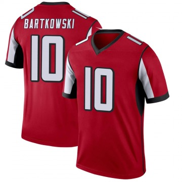 Youth Nike Atlanta Falcons Steve Bartkowski Red Jersey - Legend
