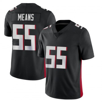 Youth Nike Atlanta Falcons Steven Means Black Vapor Untouchable Jersey - Limited