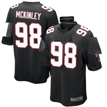 Youth Nike Atlanta Falcons Takkarist McKinley Black Alternate Jersey - Game