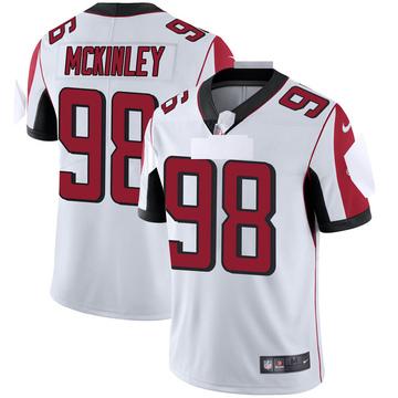 Youth Nike Atlanta Falcons Takkarist McKinley White Vapor Untouchable Jersey - Limited