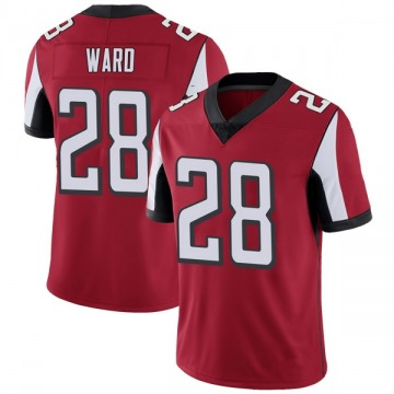 Youth Nike Atlanta Falcons Terron Ward Red Team Color Vapor Untouchable Jersey - Limited