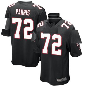Youth Nike Atlanta Falcons Timon Parris Black Alternate Jersey - Game