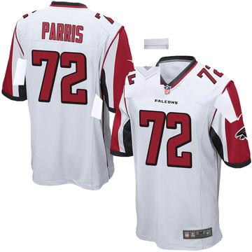 Youth Nike Atlanta Falcons Timon Parris White Jersey - Game