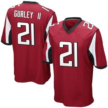 Youth Nike Atlanta Falcons Todd Gurley Red Team Color Jersey - Game