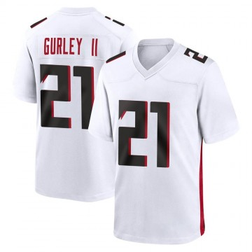 Youth Nike Atlanta Falcons Todd Gurley White Jersey - Game